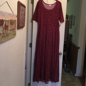 LuLaRoe Ana dress 3X NWT